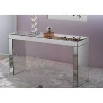 Aparador Espelho Prata Lapidado Clean...