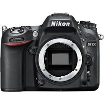 Camera Nikon D7100 Lente 18-105 Com Bolsa+32g Classe10