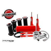 Kit Suspensão Ar 1/2mm Stilo Com Compressor Myrideshop