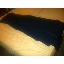 Vestido Largo Tipo Corset Corte Asimetrico Negro Talla 14