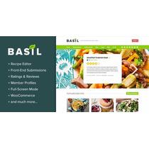 Plantilla Wordpress | Premiun | Basil Recipes V1.4.7