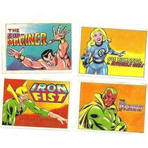 Figurinhas Do Album Super Heroes Marvel - Ed. Dimensão 1978