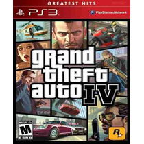 Gta 4 Grand Theft Auto Iv 4 Ps3 Original