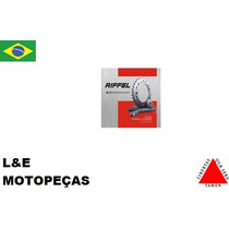 Kit Transmissão Moto Fazer 250 45/15/428 250 Riffel Premium