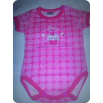 Body Bebe Wishes Shabby Chic Pink Rosa 3 Meses Nuevo!!!