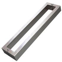 Puxador Aço Inox Polido 40cm Porta Pivotante Madeira/vidro