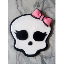 Adorno De Torta Logo Monster High