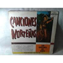 Lp Canciones Norteñas Los Gavilanes Del Norte