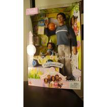 Barbie Happy Family Alan & Ryan Negro Nao Gravida