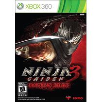 Ninja Gaiden 3 Razor`s Edge Mídia Física Xbox 360