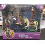Set De 5 Muñecos Rapunzel Enredados Tangled - Oferta!