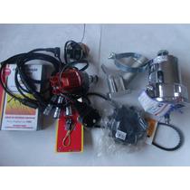 Alternador 75a Cromado+ignição Eletr+cabo Velas Ngk Fusca