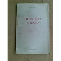 Livro - Quarenta Poemas - Jorge De Sena