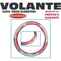 Capa De Volante Couro Sintético 38cm Diâmetro - Modelo 015