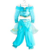 Disfraz Princesa Jazmin Disney Store Talle7/8