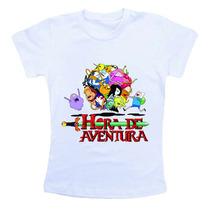 Camiseta Infantil - Hora De Aventura Ref775