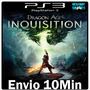 Dragon Age Inquisition Original Legendad Pt Br Ps3 Play3 Psn