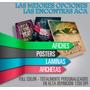 Afiches Láminas Posters Imagenes Fullcolor 33x48 150g X 100