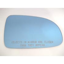 Lente Azul Espelho Retrovisor Gol 95 A 99 Lado Direito