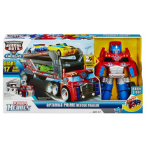 Recue Bots Optimus Prime Rescue Trailer