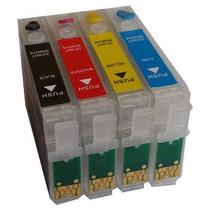 Cartucho Recarregável Impressora Tx105 Tx115 Tx200 Tx400 T33