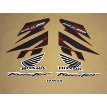 Kit Adesivos Honda Cbx Twister 250 2008 Vermelha - Decalx