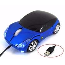 Mouse Óptico Formato De Carrinho Conexão Usb