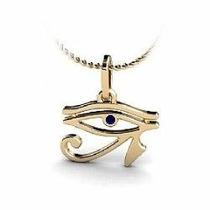 Nelcy Joias Pingente Olho De Horus Em Ouro 18k A,y
