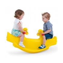 Novo Brinquedo Para Playground Gangorra Cavalinho Amarelo