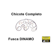 Chicote Eletrico Completo Fusca Dinamo Gas Original Tc Novo