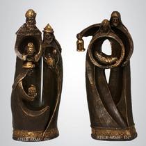 Presépio Estilizado 26cm (5 Peças) - Escultura