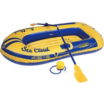 Balsa Con Remos Y Bomba Bote Inflable Stansport