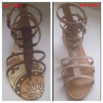 Sandalias Para Dama Tipo Romana