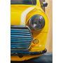 Pintura Mini Cooper - Quadro Ost Tela Carro Antigo