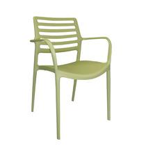 Cadeira Bar/restaurante/living Fixa Em Polipropileno