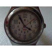 Reloj Swatch Irony Acero Dama Corea De Piel Impecable