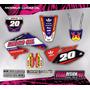Kit Grafica Calco Honda Crf 450 - 02/04 - Grueso Competicion