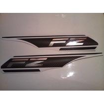 Calcos Para Yamaha Fz Precio Por Par , Limited Encarbono