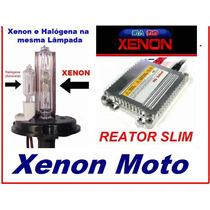 Kit Xenon Slim Para Moto H4-2 - Xenon E Halógena - Promoção!