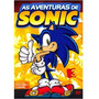 As Aventuras De Sonic Vol 3 Dvd Filme Original Frete Gratis