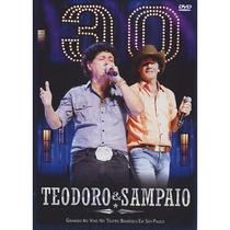 Teodoro&sampaio 30 Anos-ao Vivo Em Sp Dvd Original Novo Raro