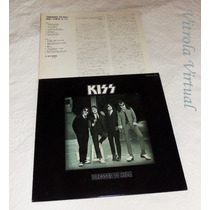 Lp Kiss Dressed To Kill Selo Casablanca Japonês Swx 6188