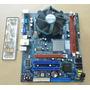 Kit Placa Mãe Phitronics P7i45gc-m+dual Core E2100 2gb Ram