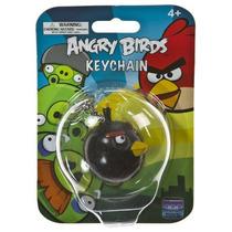 Pájaro Negro ~ 2 Mini-figura Llavero: Llaveros Angry Birds