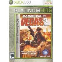 Jogo Ntsc Rainbow Six Vegas 2 Platinum Hits Para Xbox 360