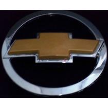 Emblema Dourado C Borda Cromada Grade Corsa Sedan Maxx 02/..