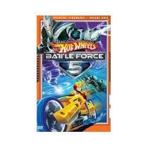 Dvd - Hot Wheels Battle Force 5 Vol 2
