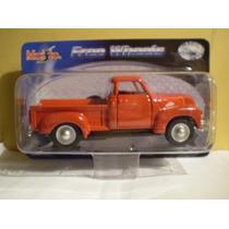 Maisto Free Wheels `53 Chevrolet 3100 - Escala 1/36
