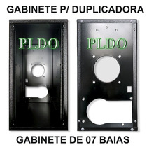 Gabinete De 7 Baias P/ Torre De Gravação Duplicadora Cd Dvd