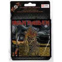 Patch Tecido - Iron Maiden - Capa Do 1o Album P351 Importado